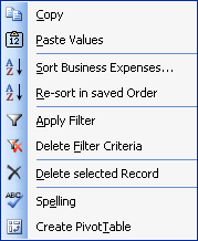 Image of the right-click menu.